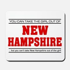 'Girl From New Hampshire' Mousepad