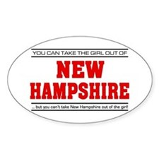 'Girl From New Hampshire' Decal