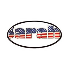 American Sarahi Patches