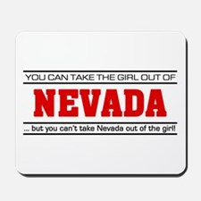 'Girl From Nevada' Mousepad
