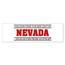 'Girl From Nevada' Bumper Sticker