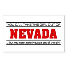 'Girl From Nevada' Decal