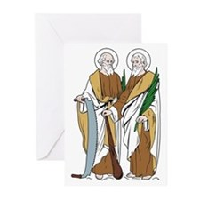 St. Simon and Jude Greeting Cards (Pk of 10)