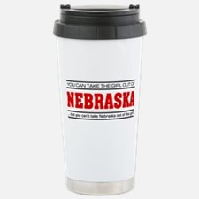 'Girl From Nebraska' Travel Mug