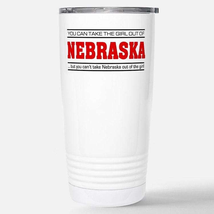 'Girl From Nebraska' Travel Mug