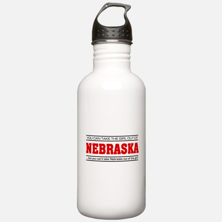 'Girl From Nebraska' Water Bottle