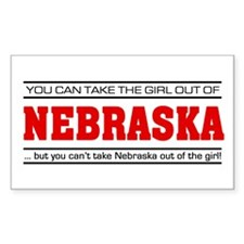 'Girl From Nebraska' Decal