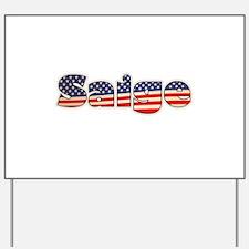 American Saige Yard Sign