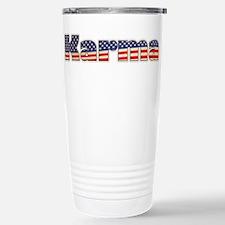 American Karma Stainless Steel Travel Mug