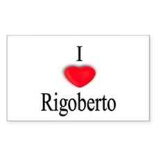 Rigoberto Rectangle Decal