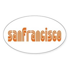 SF MUNI Oval Decal