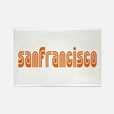 SF MUNI Rectangle Magnet