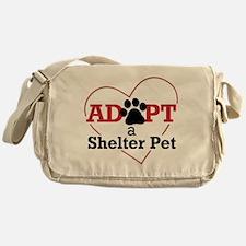 Adopt a Shelter Pet Messenger Bag