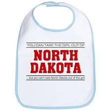 'Girl From North Dakota' Bib