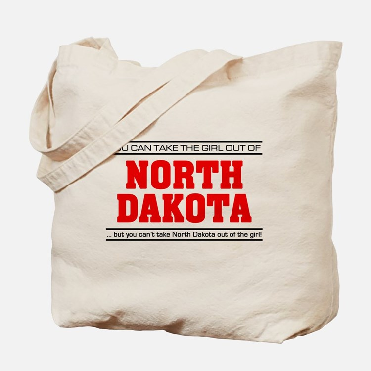 'Girl From North Dakota' Tote Bag