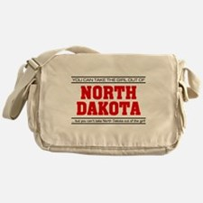 'Girl From North Dakota' Messenger Bag