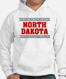 'Girl From North Dakota' Jumper Hoody
