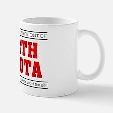 'Girl From North Dakota' Mug