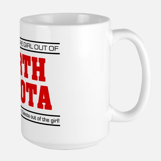 'Girl From North Dakota' Large Mug