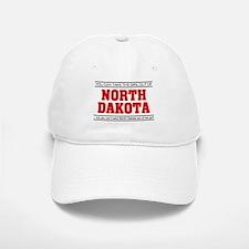 'Girl From North Dakota' Baseball Baseball Cap