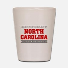 'Girl From North Carolina' Shot Glass