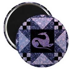 "Purple Star 2.25"" Magnet (10 pack)"