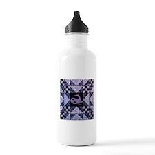 Purple Star Water Bottle