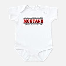 'Girl From Montana' Infant Bodysuit