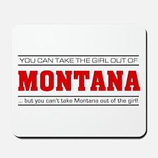 'Girl From Montana' Mousepad
