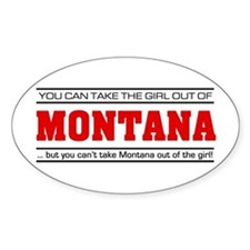 'Girl From Montana' Decal