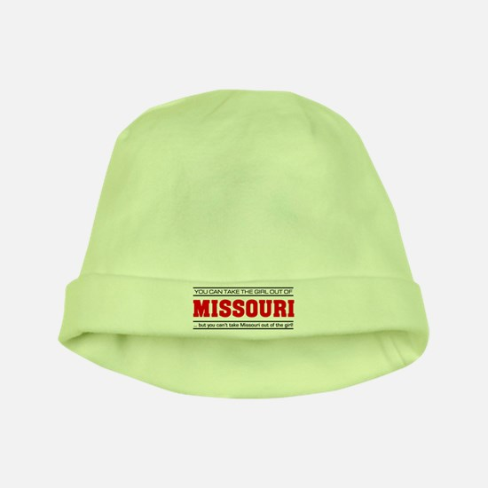 'Girl From Missouri' baby hat