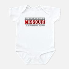 'Girl From Missouri' Infant Bodysuit