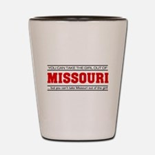 'Girl From Missouri' Shot Glass