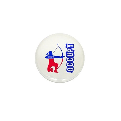 Robin Hood Party Occupy Mini Button (100 pack)