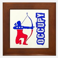 Robin Hood Party Occupy Framed Tile