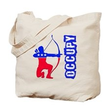 Robin Hood Party Occupy Tote Bag