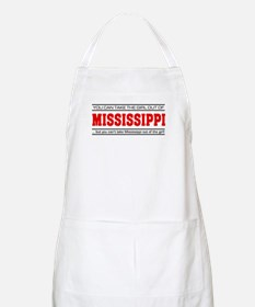 'Girl From Mississippi' Apron