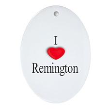 Remington Oval Ornament
