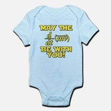 May The Force Be With You Physics Geek Nerd Infant
