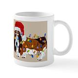 Basset hound mugs Coffee Mugs