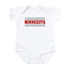 'Girl From Minnesota' Infant Bodysuit