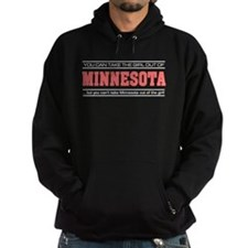 'Girl From Minnesota' Hoodie