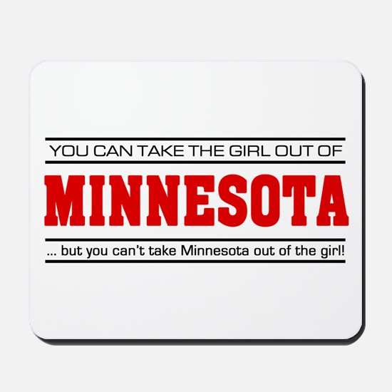'Girl From Minnesota' Mousepad