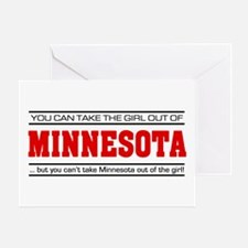 'Girl From Minnesota' Greeting Card