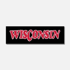 Wisconsin Vintage Car Magnet 10 x 3