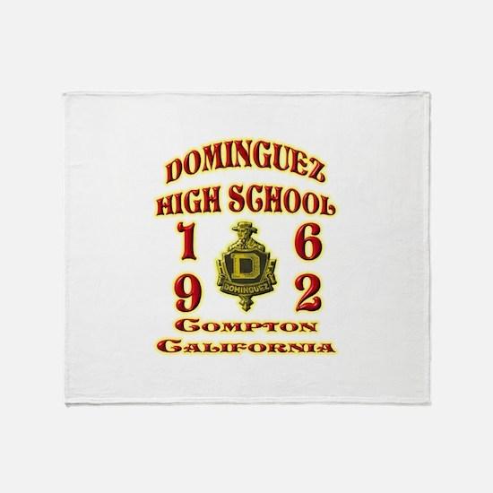 Dominguez High Class of 62 Throw Blanket