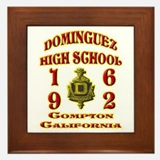 Dominguez High Class of 62 Framed Tile