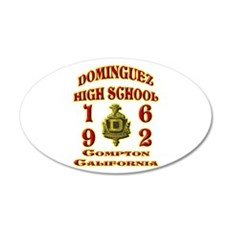 Dominguez High Class of 62 22x14 Oval Wall Peel