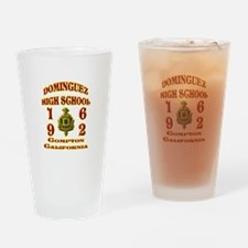 Dominguez High Class of 62 Drinking Glass