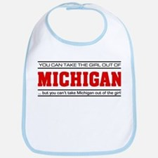 'Girl From Michigan' Bib